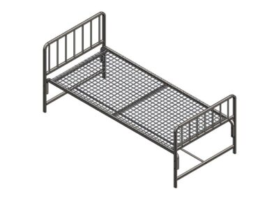 Economic hospital bed