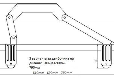 Small folding legs 1