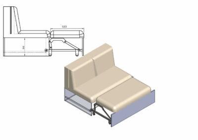 Small folding legs 3