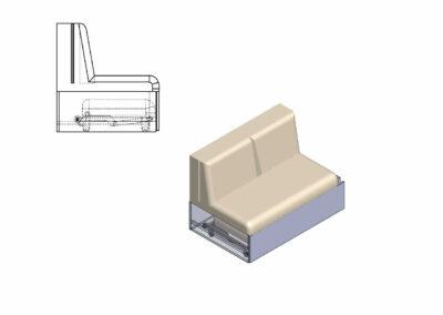 Small folding legs 4